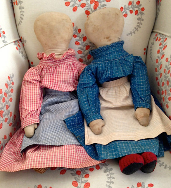 Kathy Schoemer Antiques - Cloth Doll