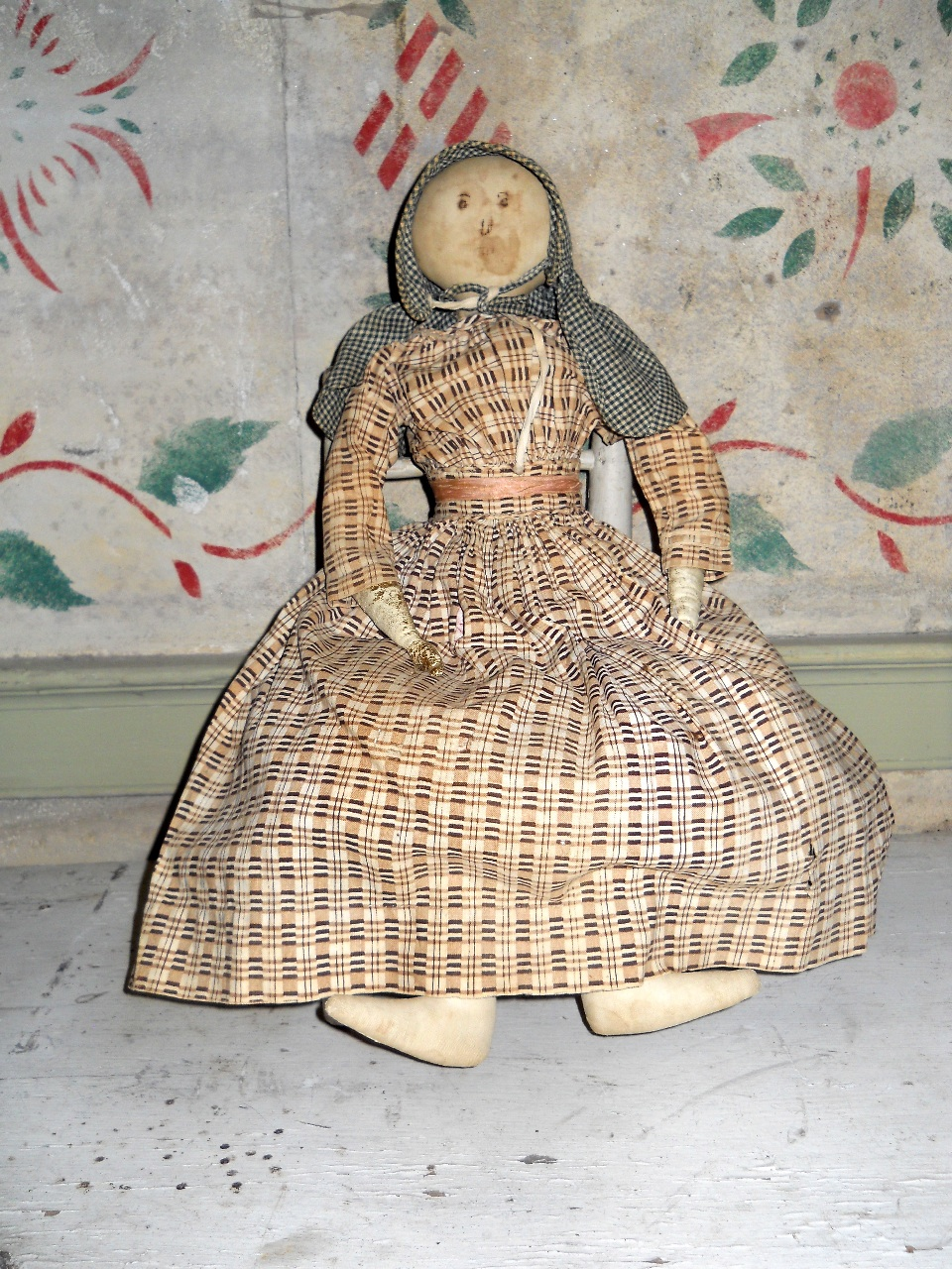 doll with kerchief