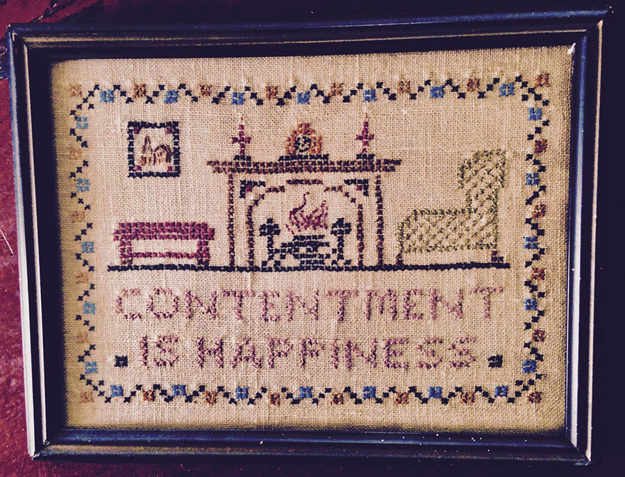Contentment is Happiness